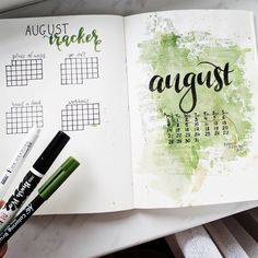 I am alive, just accidentally decided to have a trip to another country for a week, which absolutely killed my instagram activity. Here is my monthly spread and I love it. I've got lots of experiments with spray and waterbrush as you can see