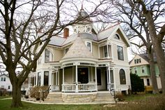The beautiful Victorian-style Magruder House in Kankakee, IL. Take a look at more historic homes in the area...