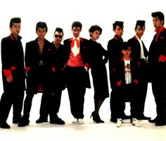 with Vivienne and the Black Cats, Tokyo 1984 Pink Dragon, Teddy Boys, Vivienne, Rockabilly, Black Cats, Cream Soda, Japanese, Tokyo, Corner