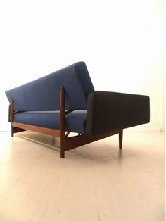 Rob Parry; Teak Sleeper Sofa for NSW, 1959.