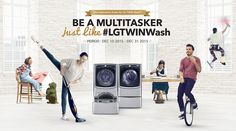 Win an LG TWIN Wash™ Suite!                           #Contests, #LG, #Win, #Suite, #Wash, #Giftcards