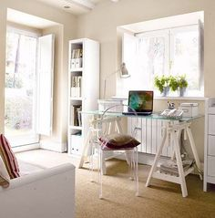 Most Popular Study Table Designs and Children's Chairs Today Bedroom Decor For Small Rooms, Diy Bedroom Decor, Home Decor, Office Decor, Home Office, Office Inspo, Study Table Designs, Desk Inspiration, Apartment Living