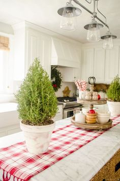 Holiday Housewalk 2015   Farmhouse Holiday Baking in the Christmas Kitchen   Gather inspiration from the Holiday Housewalk 2015 with a modern farmhouse decorated for Christmas using rustic and classic decor.