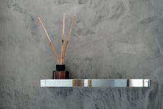 Mikrosementillä ilmettä kylpyhuoneeseen Incense, Diffuser, Bathroom Ideas, Image, Loudspeaker Enclosure