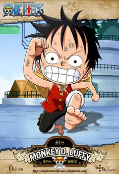 One Piece - Monkey D. Luffy By ~Tekilazo300 & ~Bejitsu