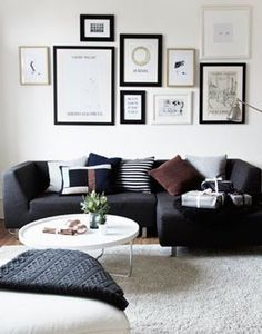 Living Room : Christmas vibe and cookie smell – via Coco Lapine Design New Living Room, Home And Living, Living Room Decor, Living Spaces, Relaxation Room, Home Comforts, Interior Design Inspiration, Decoration, Home Furniture