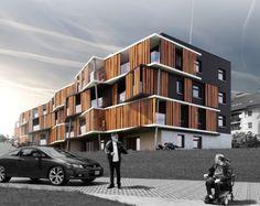 Koncepcja architektoniczno- urbanistyczna zespołu mieszkalno-usługowego