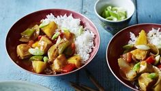 Sweet and sour chicken Recipes bbc food Bbc Good Food Recipes, Healthy Dinner Recipes, Sweet Recipes, Cooking Recipes, Healthy Drinks, Bbc Recipes, German Recipes, Savoury Recipes, Meal Recipes