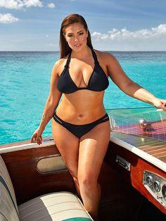Black Bikini, Sexy Bikini, Bikini Girls, Bikini Swimwear, Bikini Tops, Bikini Bottoms, Curvy Swimwear, Ashley Graham Model, Jolie Lingerie