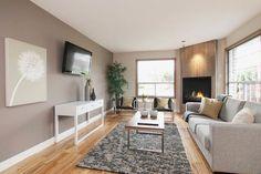 #Transitional living #room #design with a lovely corner | http://home-designs-seamus.blogspot.com