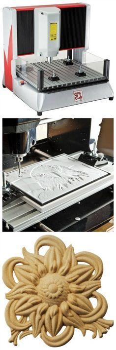 Click-N-Carve CNC Carving Machine (BE3030) - Rockler.com