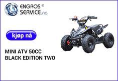 50cc, Black Edition, Atv, Monster Trucks, Mini, Atvs