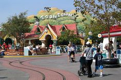 Toontown at Disneyland, California