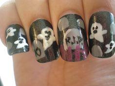 2010 Halloween Nails