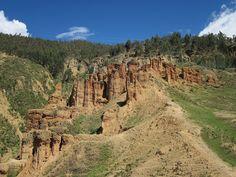 """Torre Torre"" geological park, Huancayo, Junin, Peru"