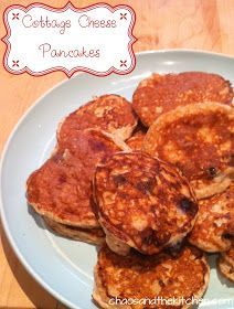 Chaos and the Kitchen: Low Carb Low Fat Blueberry Pancakes