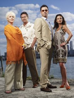 Burn Notice - Jeffrey Donovan, Gabrielle Anwar, Bruce Campbell and Sharon Gless