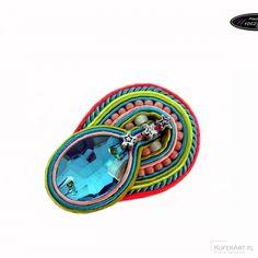 Retro broszka - Broszki - Biżuteria artystyczna