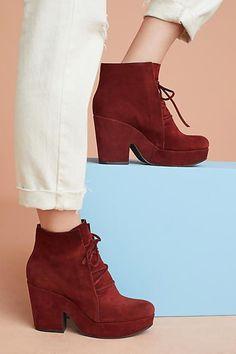 Coclico Suede Platform Boots