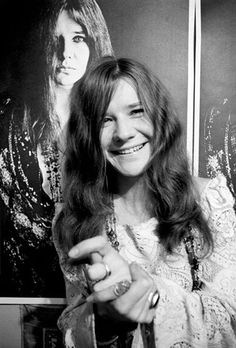 Janis Joplin rocked before rock and roll was super rocky. her raw voice and devil-may-care attitude makes her the kind of girl that i would long to call, but never have the nerve to do so.   r.i.p. Janet.