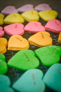 Margaritas In The Rain: Sweetheart Cookies