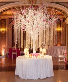 Stunning tree to really make an impact for this event. Would be really cute as a wish tree! Floral Wedding, Diy Wedding, Wedding Events, Wedding Flowers, Dream Wedding, Wedding Ideas, Weddings, Bouquet Wedding, Reception Decorations
