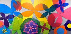 """Artista plástico Quim Alcantara Obra de arte """"De Tempo ao Tempo"""" Acrílica sobre tela, dezembro de 2013, 180 x 90 cm. http://quim.com.br/de-tempo-ao-tempo/"""