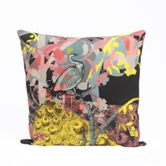 """""""LAURA OAKES"""" Laura Oakes Enchanted Forest Cushion at Heal's"""