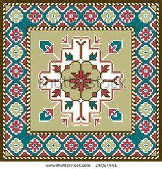 Armenian Culture, Three Little Birds, Square Patterns, Modern Embroidery, Angel Art, Mandala Art, Oriental Rug, Rugs On Carpet, Needlepoint