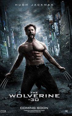 The Wolverine Poster, Hugh Jackman
