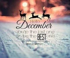 Welcome December!!!