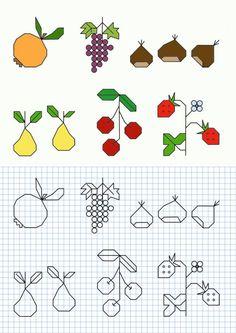 Cornicette per bambini a quadretti da colorare e stampare [FOTO] | PourFemme