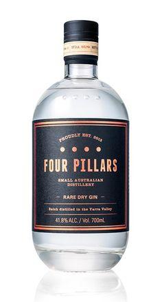 Four Pillars Rare Dry Gin  For more http://www.polkadotbride.com/2014/12/polka-dot-christmas-gift-guide-groom-groomsmen/