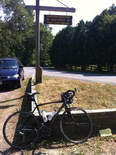 @rafuzo: #PMCRideFinds top of Overlook Mountain in the Catskills