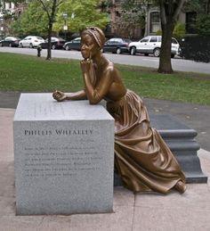 Phyllis Wheatley - Boston, Massachusetts