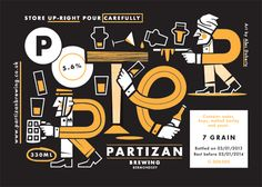 Partizan Brewing Labels