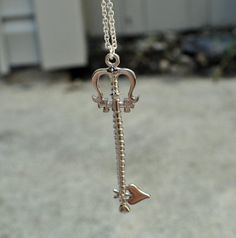 Lady Luck  Kingdom Hearts Keyblade necklace by JewelryByAimee, $15.50