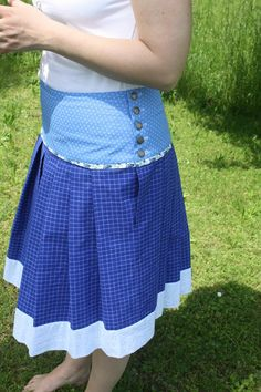 E-Book Biergartenrock Rosi image 1 Lace Skirt, Arts And Crafts, Sewing, Skirts, Modern, Handmade, Etsy, Book, Image