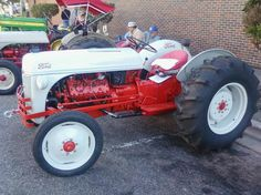 There was once a kit for the Ford 8N that allowed you to swap out the stock 4 cylinder engine for a flathead V8!