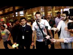Sanjay Dutt SPOTTED at Mumbai Airport returning back from film shooting. See the full video at : https://youtu.be/W9-P0blmn-E #sanjaydutt