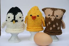Awww! owl, chicken, etc ~ PATTERN FOR SALE. Link correct when I checked on 04/09/2015 KNITTED PATTERN