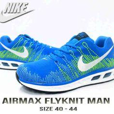 Nike Airmax Flyknit Man, Warna: Blue, Size : 40-44. Untuk Pemesanan Online Kunjungi : www.rockford-footwear.com *Gratis pengiriman ke seluruh Indonesia Email: contact@rockford-footwear.com Pin :...