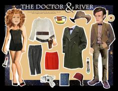 dr who and river song! http://www.pinterest.com/lynnm346/the-geek-in-me-madmen-game-of-thrones-much-more-pa/
