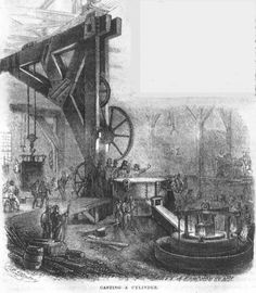 Casting a Cylinder at The Novelty Iron Works
