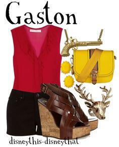 """""""Gaston""""  by DisneyThis-DisneyThat on Tumblr"""