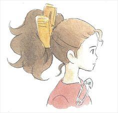 Hiromasa Yonebayashi Illustrations ★ The Secret World of Arrietty