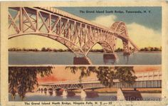 The Grand Island South & North Bridge Niagara Falls