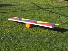 A balance board for the scallywags