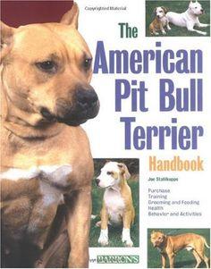 American Pit Bull Terrier Handbook (Barron's Pet Handbooks) $2.32