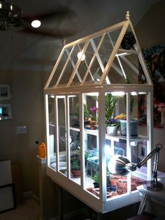 Build your own greenhouse #greenhouse #inhome #plants #afflink